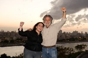 Wayne with daughter Layla in Havana Cuba