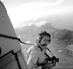 Shooting outside helicopter at 6,000 ft for a corporate annual report assignment, St. Croix
