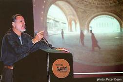 Wayne presenting keynote to PACA members in New York