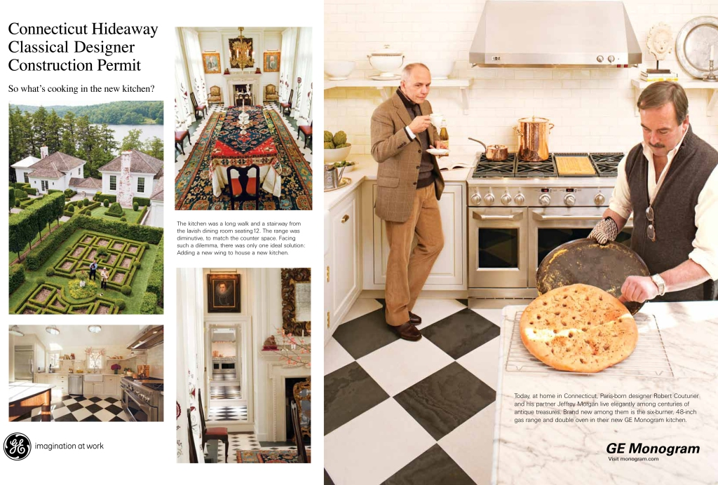 """GE-Monogram print ad """"What's Cooking in the Kitchen"""""""