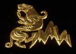 Golden Warrior, Kazakhstan, Snow Leopard, plaque, gold, mountains, 5th century B.C., Saka chieftain
