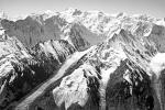 Glaciers, Tien Shan, Mountains, Kazakhstan