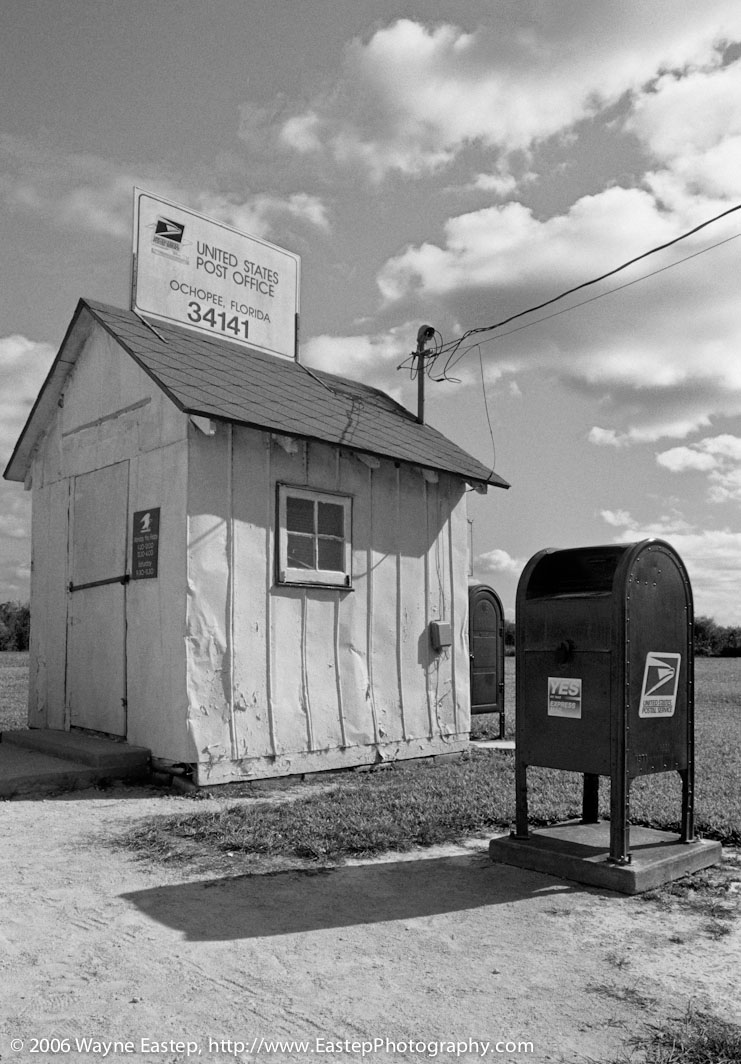 Post Office, Ochopee, Florida, Smallest Post Office