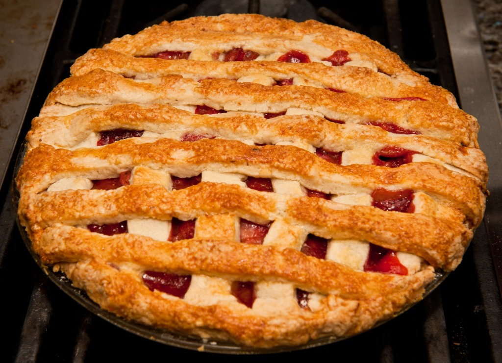Rubarb Strawberry Pie