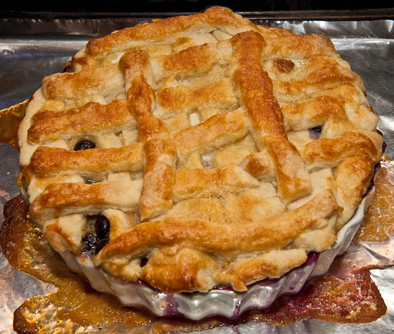 Peach cobbler or pie