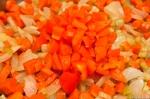 Onions, carrots