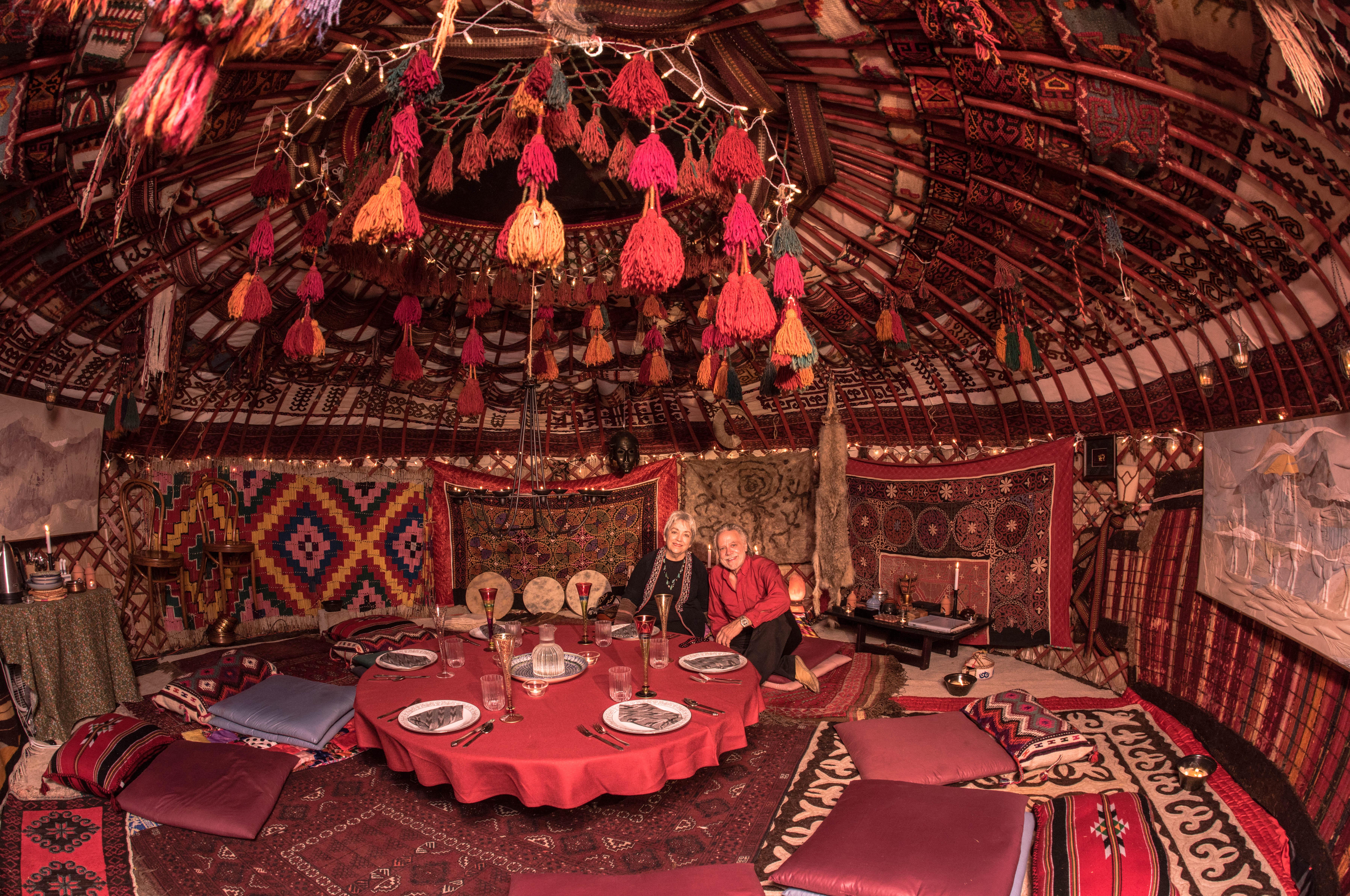 Yurt, Sarasota, Kazakhstan, Kazakh, Tent, Nomadic, Dwelling