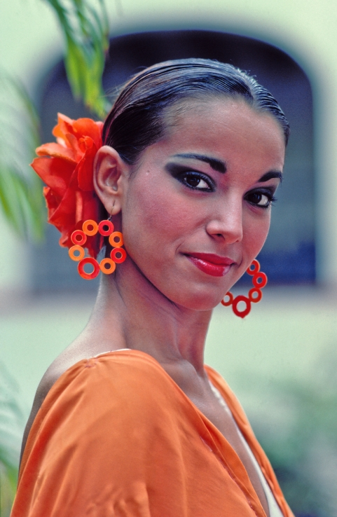 Flamenco Dancer, Puerto Rico,