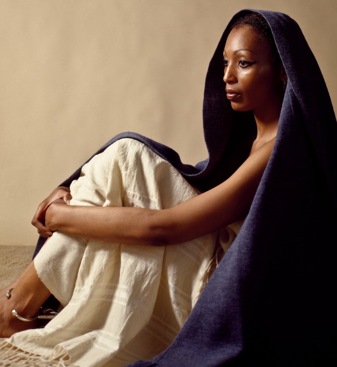 Nubian, Woman, Studio, Portrait, Portraiture