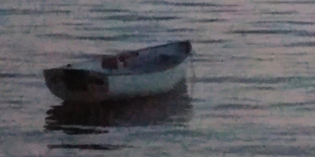 Dingy, Boat, Sarasota-Bay, Sarasota, Florida, iPhone11Pro, Moody-image,
